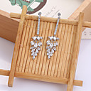 cheap Jewelry Sets-Women's Stud Earrings - Silver For Wedding / Party