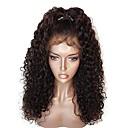 tanie Peruki z włosów ludzkich-Włosy naturalne remy 360 Przednie Peruka Z Baby Hair Włosy brazylijskie 360 Przednie Luźne fale Peruka 150% 180% Gęstość włosów Peruka afroamerykańska Damskie Krótkie Długość średnia Długie Peruki
