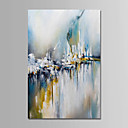 cheap Abstract Paintings-Oil Painting Hand Painted - Abstract Comtemporary Simple Modern Canvas