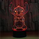 זול תאורה מודרנית-1set LED לילה אור לגעת 7-Color מופעל באמצעות USB גע בחיישן