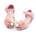 זול סנדלי נשים-בנות נעליים PU קיץ נוחות / נעליים לילדת הפרחים סנדלים ל בז' / ורוד