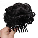 cheap Hair Pieces-chignons / Hair Piece Hair Bun Updo Drawstring Synthetic Hair Hair Piece Hair Extension Dark Brown / Medium Auburn