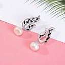 cheap Earrings-Women's Stud Earrings - Imitation Pearl White For Wedding Party