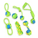 cheap Dog Clothes-Cat Teething Toys Dog Teething Toys Rope Decompression Toys Braided Rope Kits Fabric For Dog Puppy