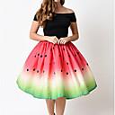 זול מגנים לטלפון & מגני מסך-מנוקד - חצאיות כותנה גזרת A בגדי ריקוד נשים