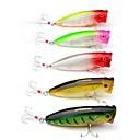זול מפיגי מתח-6 pcs פתיונות דיג פיתיון קשיח / פופר פלסטי חוץ דיג בים / דיג בפתיון / חכות וסירת דיג