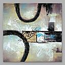 זול הדפסי בד מגולגל-ציור שמן צבוע-Hang מצויר ביד - מופשט מודרני בַּד