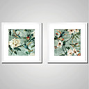 cheap Stretched Canvas Prints-Stretched Canvas Prints Comtemporary, Two Panels Canvas Square Print Wall Decor Home Decoration