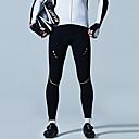 preiswerte Radsport Hosen,Kurze Hosen,Stumpfhosen-SANTIC Herrn Fahrradhosen Fahhrad Leggins / Unten Windundurchlässig Solide Schwarz Fahrradbekleidung