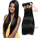 זול מטהרי אוויר לרכב-3 חבילות שיער ברזיאלי ישר שיער אנושי טווה שיער אדם שוזרת שיער אנושי תוספות שיער אדם