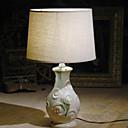 זול מנורות שולחן-מודרני / עכשווי דקורטיבי מנורת שולחן עבור חדר שינה קרמיקה 220V לבן