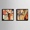 cheap Prints-Abstract People Illustration Wall Art,Plastic Material With Frame For Home Decoration Frame Art Living Room Indoor
