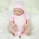 tanie Lalki Reborn-NPKCOLLECTION NPK DOLL Lalki Reborn Dziecko 12 in Silikony całego ciała Silikon Winyl - Jak żywy Śłodkie Wyrób ręczny Bezpieczne dla dziecka Nietoksyczne Słodkie Dzieciak Dla dziewczynek Zabawki