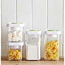 cheap Jars & Boxes-Mixed Material Storage Storage Boxes 4pcs Kitchen Organization