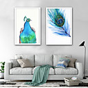 billige Oliemalerier-Dyr Tegneserie Tegning Vægkunst,Plastik Materiale Med Ramme For Hjem Dekoration Ramme Kunst Stue