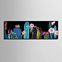hesapli Çerçeveli Resimler-Çerçeveli Tuval Çerçeve Seti - Manzara Çiçek / Botanik Plastik Çizim Duvar Sanatı