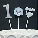 זול קישוטים לעוגה-קישוטים לעוגה יומהולדת עבודת יד יום הולדת עם 1 OPP