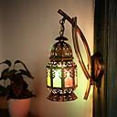 זול פמוטי קיר-קאנטרי מנורות קיר חדר שינה מתכת אור קיר 220-240V 40 W / E27