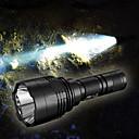 ieftine Lanterne-Nitecore P30 Lanterne LED LED CREE XP-L HI V3 1 emițători 1000 lm 8.0 Mod Zbor Rezistent la Apă, Portabil, Rezistent la Impact Camping / Cățărare / Speologie, Vânătoare Negru