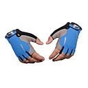 preiswerte Rucksäcke & Taschen-Halber finger Unisex Motorrad-Handschuhe Stoff Demin Atmungsaktivität / tragbar / Rutschfest