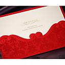 זול אביזרים לגברים-הזמנות ומעטפות הזמנות לחתונה 20 - כרטיסי הזמנה סגנון קלאסי נייר עם תבליטים מובלט