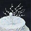 זול קישוטים לעוגה-קישוטים לעוגה נושא פרחוני חתונה עבודת יד דמוי פנינה חתונה Party עם דמוי פנינה פרחוני 1 OPP
