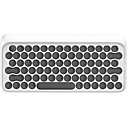 cheap Chandeliers-EH112S Wireless Monochromatic Backlit Blue Switches 91 Office Keyboard