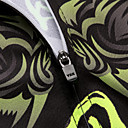 preiswerte Kunstblume-Malciklo Herrn Kurzarm Fahrradtriktot mit Fahrradhosen Fahhrad Kleidungs-Sets, 3D Pad, Rasche Trocknung, Atmungsaktiv Coolmax®, Lycra Tiger / Hochelastisch