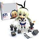 זול דמויות אקשן של אנימה-נתוני פעילות אנימה קיבל השראה מ Kantai Collection PVC 9.5 CM צעצועי דגם בובת צעצוע