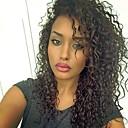 זול פיאות תחרה משיער אנושי-שיער ראמי 360 פרונטאלית פאה שיער ברזיאלי מתולתל / 360 חזיתית פאה עם שיער תינוקות 150% / 180% סקסי ליידי / שיער טבעי / פאה אפרו-אמריקאית בגדי ריקוד נשים קצר / ארוך / חצי אורך פיאות תחרה משיער אנושי
