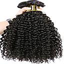 זול תוספות שיער בגוון טבעי-6 צרורות שיער ברזיאלי Kinky Curly שיער בתולי טווה שיער אדם שוזרת שיער אנושי תוספות שיער אדם בגדי ריקוד נשים / קינקי קרלי