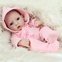 זול בובות-NPK DOLL בובה מחדש תינוקות בנות 12 אִינְטשׁ גוף מלא סיליקון סיליקון ויניל - כְּמוֹ בַּחַיִים ריסים ידניים ציפורניים אטומות וחותמות הילד של בנות צעצועים מתנות / CE / עור טבעי / ראש דיסקט