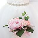זול סרטי כתף למסיבות-סטן\טול חתונה / אירוע מיוחד אבנט עם ריינסטון בגדי ריקוד נשים אבנטים