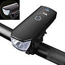זול פנסים-פנס קדמי לאופניים LED רכיבת אופניים Smart, עמיד במים, תאורת לד סוללה ניתן לטעינה מחדש 350 lm USB לבן מחנאות / צעידות / טיולי מערות / רכיבה על אופניים