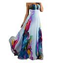 שמלות טרום קית עם הדפסים לנשים