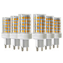 cheap LED Bi-pin Lights-YWXLIGHT® 6pcs 10W 900-1000lm G9 LED Bi-pin Lights T 86 LED Beads SMD 2835 Dimmable Warm White Cold White Natural White 220-240V