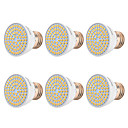 cheap Pendant Lights-YWXLIGHT® 6pcs 7 W 500-700 lm E26 / E27 LED Spotlight 72 LED Beads SMD 2835 Warm White / Cold White / Natural White 220-240 V / 110-130 V