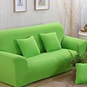 זול כיסויים-עכשווי 100% פוליאסטר ג'אקארד כיסוי ספה דו מושבית, פשוט אחיד הדפס כיסויים