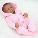 זול בובות-NPK DOLL בובה מחדש תינוקות בנות 12 אִינְטשׁ גוף מלא סיליקון סיליקון ויניל - כְּמוֹ בַּחַיִים ריסים ידניים ציפורניים אטומות וחותמות הילד של יוניסקס / בנות צעצועים מתנות / עור טבעי / ראש דיסקט