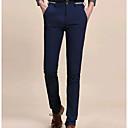 tanie Kozaki męskie-Męskie Bawełna Typu Chino Spodnie Jendolity kolor