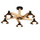 tanie Kable i Ładowarka-LightMyself™ 5 świateł Lampy widzące Downlight Drewno Drewno / Bambus 110-120V / 220-240V Nie zawiera żarówek / E26 / E27
