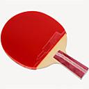 זול שולחן טניס-DHS® R4006-4007 Ping Pang/מחבטי טניס שולחן עץ גוּמִי 4 כוכבים ידית קצרה פצעונים