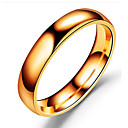cheap Men's Rings-Men's Band Ring - Stainless Steel Classic 6 / 7 / 8 / 9 Black / Silver / Rose Gold For Birthday Daily Date