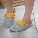זול חלוקי אמבט-כפכפי נשים נעלי בית רגיל פוליאסטר צבע אחיד