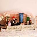 tanie Brokat do paznokci-Organizacja kuchni Skrzynki magazynowe Bambus Przechowywanie 1 zestaw