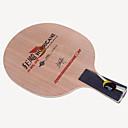 זול שולחן טניס-DHS® Hurricane H-WL-GC CS Ping Pang/מחבטי טניס שולחן לביש עמיד עץ סיבי פחמן 2 + GC + 2 1