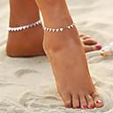 baratos Tornezeleira-Geométrica Tornezeleira - Boêmio, Fashion, Boho Dourado / Prata Para Para Noite Bikini Mulheres