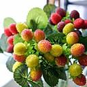 זול פרחים מלאכותיים-פרחים מלאכותיים 1 ענף כפרי / פרחי חתונה פירות פרחים לשולחן