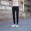 זול אביזרי קוספליי אנימה-בגדי ריקוד גברים כותנה ג'ינסים מכנסיים אחיד
