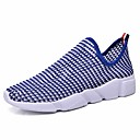 cheap LED String Lights-Men's Shoes Tulle Spring Fall Comfort Athletic Shoes Basketball Shoes for Athletic Outdoor Black Red Blue